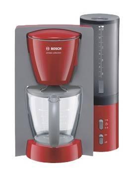 Кофеварка капельная Bosch TKA6024V красный/серый - фото 1