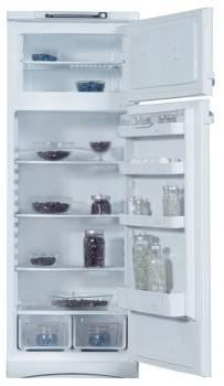 Холодильник Indesit ST 167 белый, двухкамерный, общий объем 298л, размораживание холодильной камеры: капельное, размораживание морозильной камеры: ручное