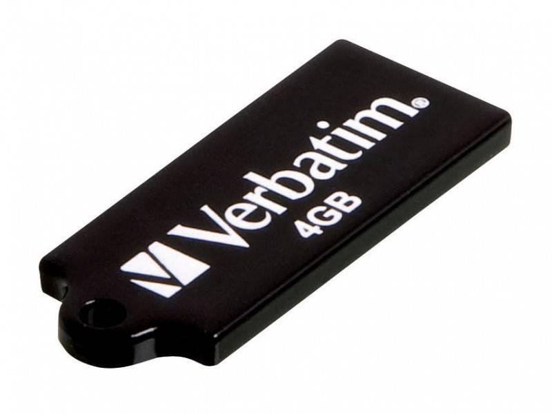 Флеш диск 4Gb Verbatim Micro Drive - фото 1