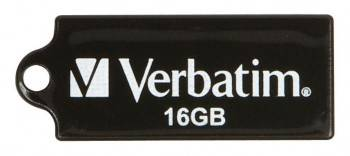 Флеш диск Verbatim Micro 16ГБ USB2.0 черный