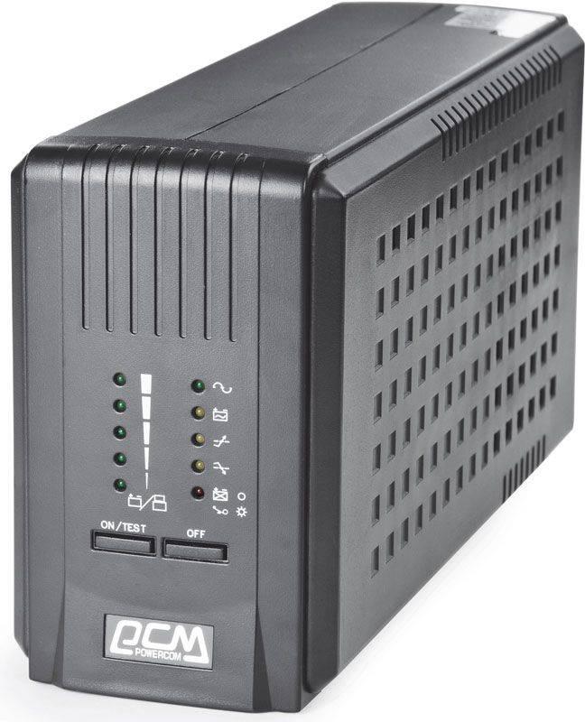 ИБП Powercom Smart King Pro SKP-1500A черный - фото 1