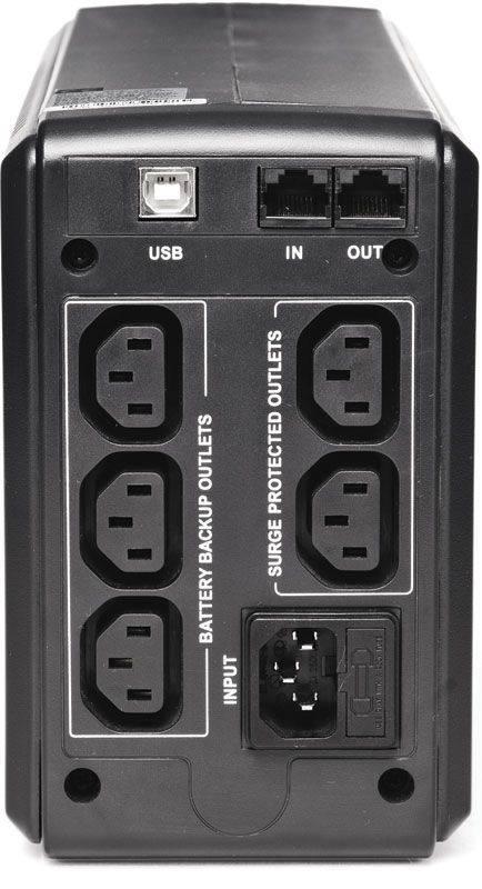 ИБП Powercom Smart King Pro SKP-1500A черный - фото 2