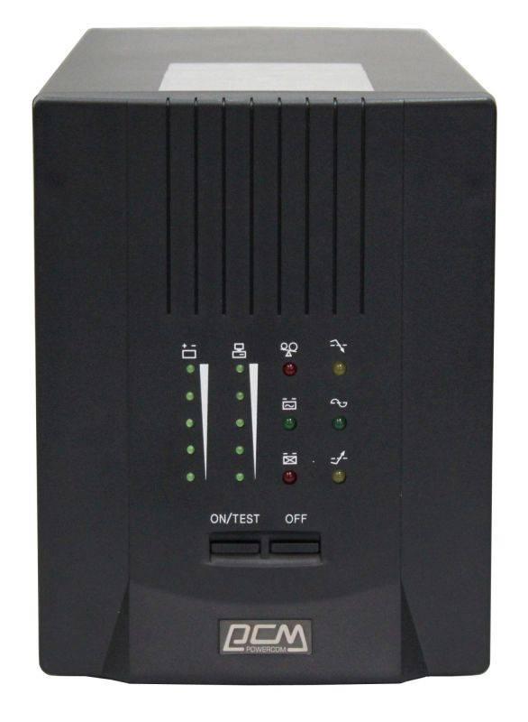 ИБП Powercom Smart King Pro SKP-1500A черный - фото 5