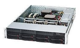 Корпус SuperMicro CSE-825TQ-563LPB 560 Вт черный