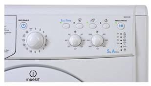 Стиральная машина Indesit IWSC 5105 SL белый - фото 4