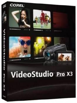 ПО Corel VideoStudio Pro X3 [VSPRX3RU]