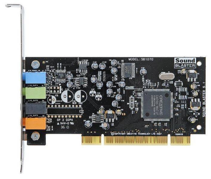 Звуковая карта PCI Creative 5.1 VX - фото 2