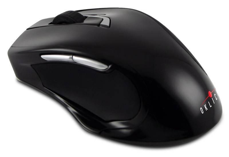 Мышь Oklick 408MW черный - фото 2