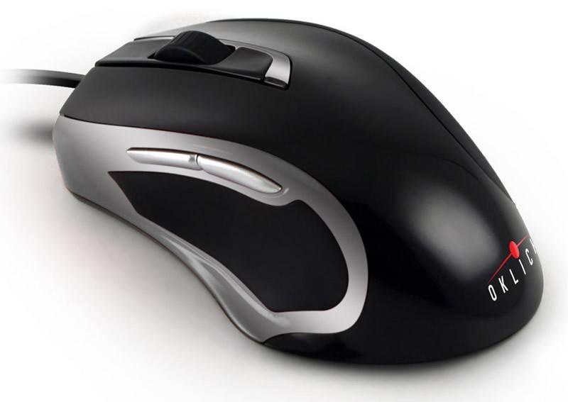 Мышь Oklick 620L черный/серебристый - фото 1