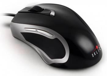 Мышь Oklick 620L черный / серебристый