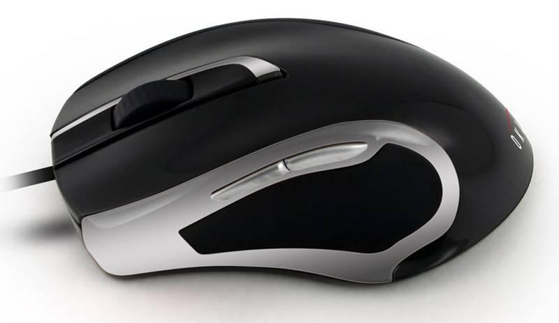 Мышь Oklick 620L черный/серебристый - фото 2