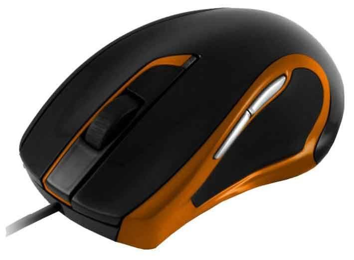 Мышь Oklick 620L черный/оранжевый - фото 1
