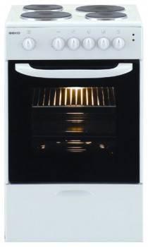 Плита электрическая Beko CS 46100 белый