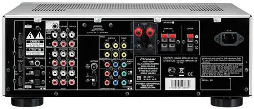 Ресивер AV Pioneer VSX-520-S 5.1 серебристый - фото 2