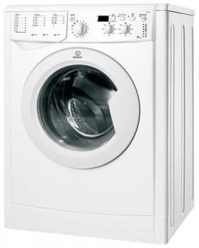 Стиральная машина Indesit IWUD 4105, белый корпус, белый люк, фронтальная загрузка до 4кг, максимальная скорость отжима 1000об/мин