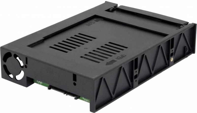 Сменный бокс для HDD AgeStar MR3-SATA(S)-1F SATA II черный - фото 2