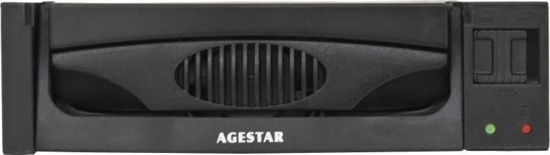 Сменный бокс для HDD AgeStar MR3-SATA(S)-1F SATA II черный - фото 3