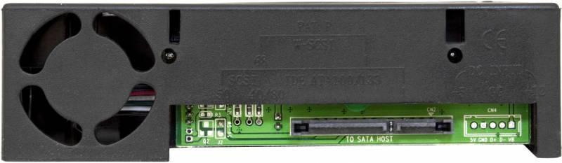 Сменный бокс для HDD AgeStar MR3-SATA(S)-1F SATA II черный - фото 4