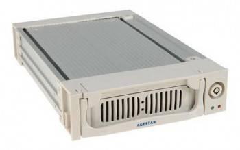 Сменный бокс для HDD AgeStar AMR1- SATA(K)-3F SATA серебристый (SR1A(K)-3F SILVER)