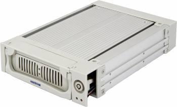 Сменный бокс для HDD AgeStar AMR1- SATA(K)-1F SATA серебристый