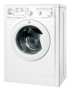 Стиральная машина Indesit IWUB 4105, белый корпус, белый люк, фронтальная загрузка до 4кг, максимальная скорость отжима 1000об/мин