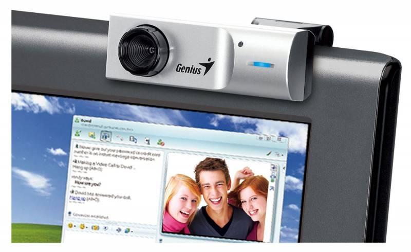 Веб-камера Genius FaceCam 1320 черный - фото 5
