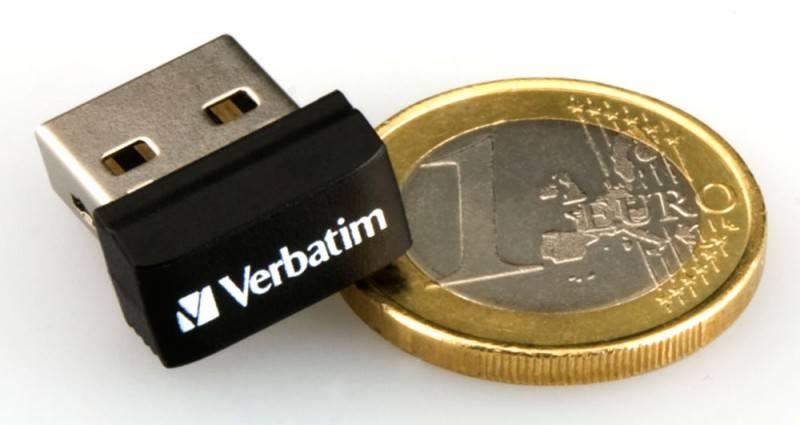 Флеш диск 32Gb Verbatim Store n Go Netbook USB2.0 черный - фото 1