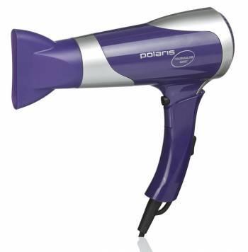Фен Polaris PHD1667TTi фиолетовый/серебристый