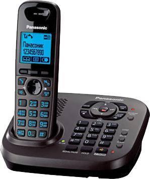 Телефон Panasonic KX-TG6561RUT темно-серый металлик