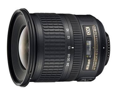 Объектив Nikon AF-S DX 10-24mm f/3.5-4.5G ED 10-24mm f/3.5-4.5 - фото 1