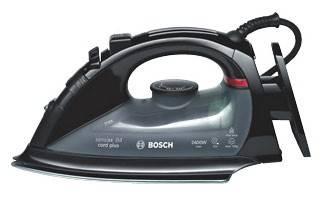 Утюг Bosch TDA5660 черный - фото 1