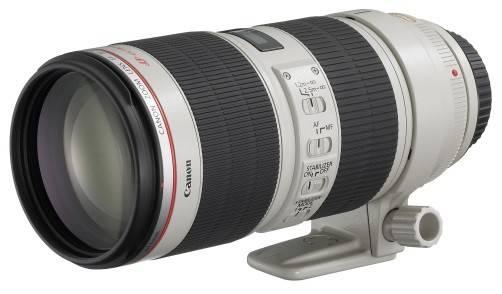 Объектив Canon EF IS II USM (2751B005), байонет Canon EF, фокусное расстояние 70-200mm, светосила f/2.8L - фото 1