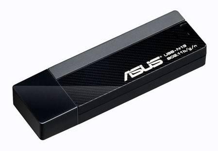 Сетевой адаптер WiFi Asus USB-N13 - фото 1