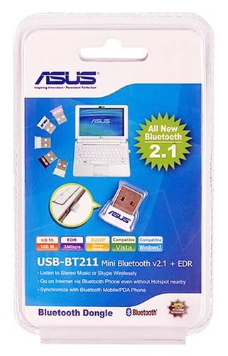 Сетевой адаптер Bluetooth Asus USB-BT211 - фото 1