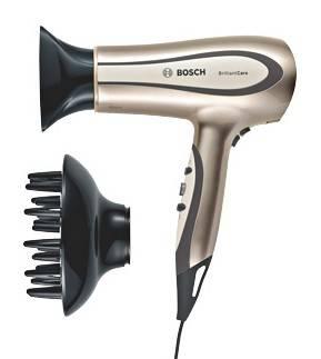 Фен Bosch PHD5980 коричневый / черный