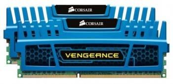 Модуль памяти DIMM DDR3 2x4Gb Corsair Vengeance (CMZ8GX3M2A1600C9)