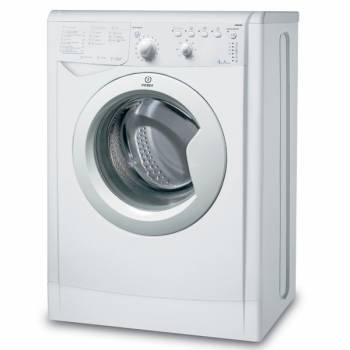 Стиральная машина Indesit IWUB 4085, белый корпус, белый люк, фронтальная загрузка до 4кг, максимальная скорость отжима 800об/мин