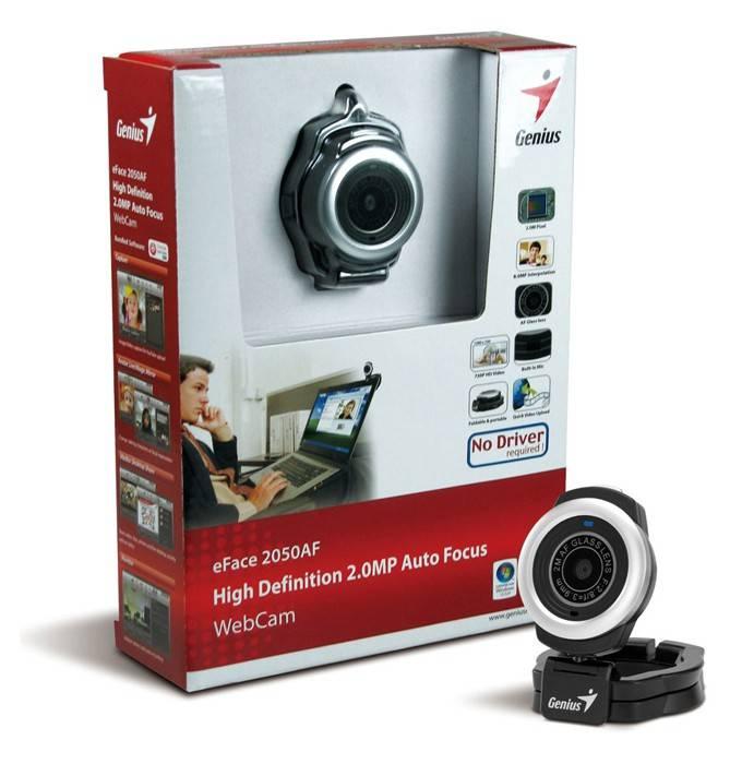 Веб-камера Genius e-Face 2050AF - фото 2