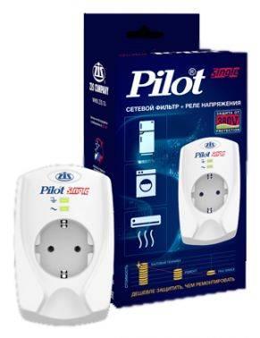 Сетевой фильтр Pilot Single белый