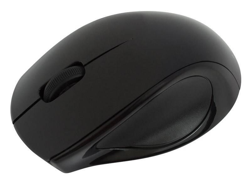 Мышь Oklick 412SW черный - фото 3
