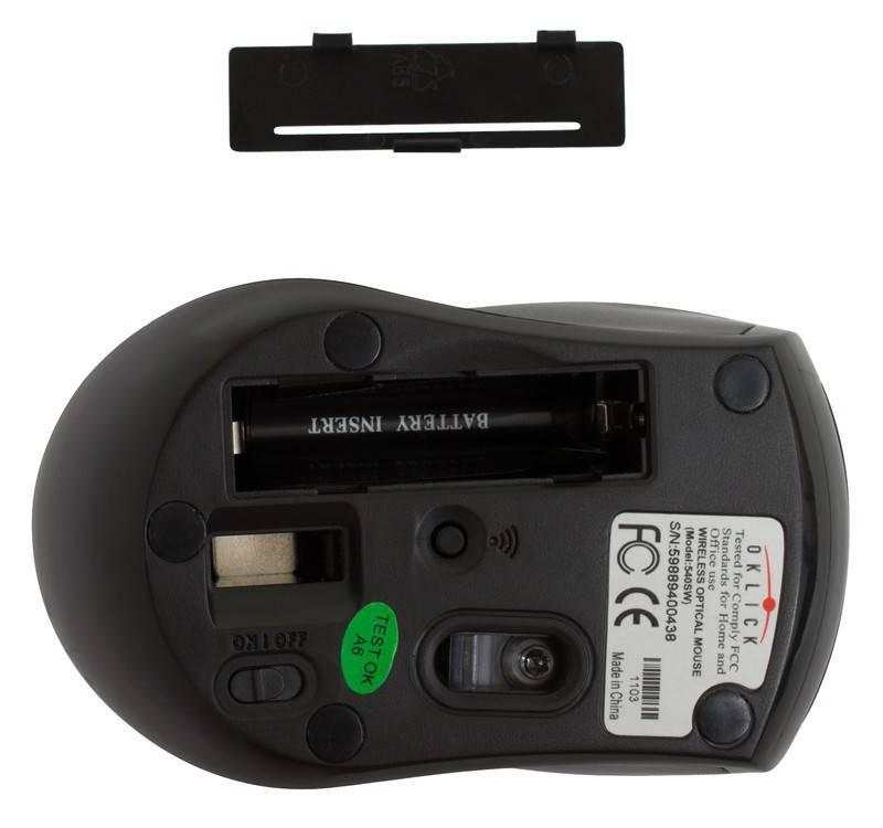 Мышь Oklick 540SW черный - фото 5