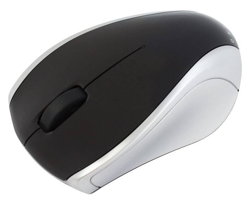 Мышь Oklick 540SW черный/серебристый - фото 3