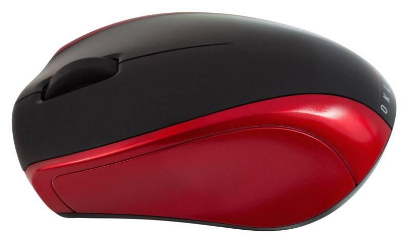 Мышь Oklick 540SW черный/красный - фото 2