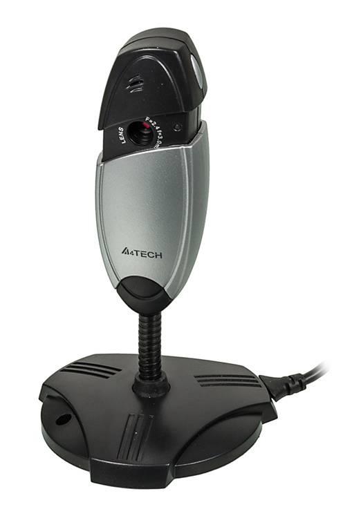 Камера Web A4 PK-635K черный/серебристый - фото 1