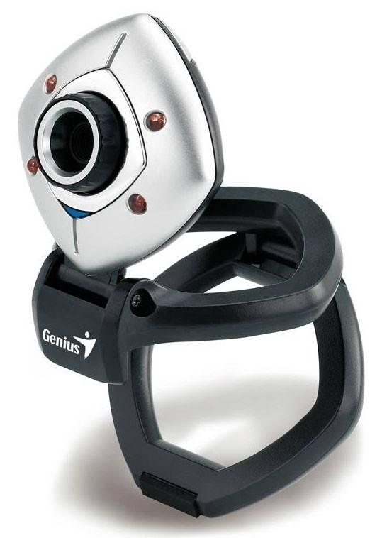 Веб-камера Genius e-Face 1325R серебристый/черный - фото 3
