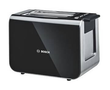 Тостер Bosch TAT8613 черный - фото 1