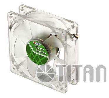 Вентилятор Titan TFD-8025GT12Z, размер 80x80x25мм - фото 1