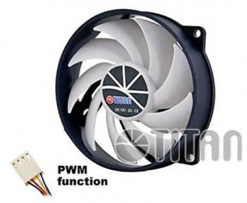 Вентилятор Titan TFD-9525H12ZP/KU(RB), размер 80x80x25мм