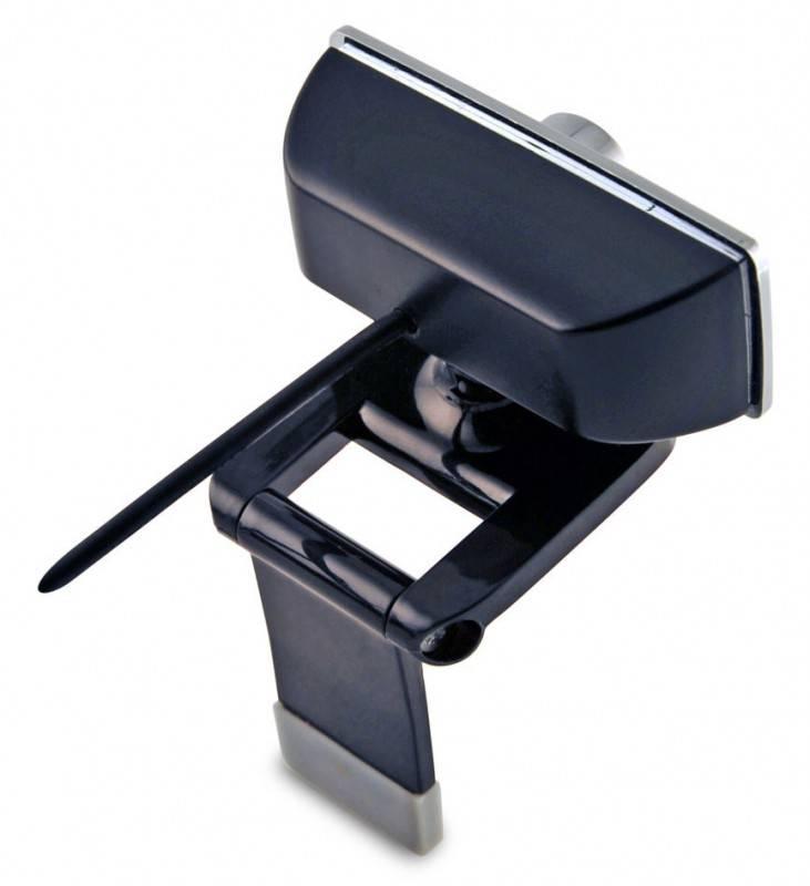 Веб-камера Oklick LC-110M черный/серебристый - фото 2