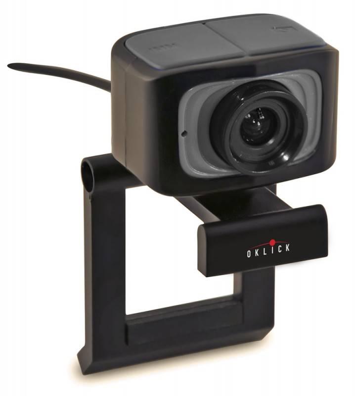 Веб-камера Oklick LC-115S черный - фото 1